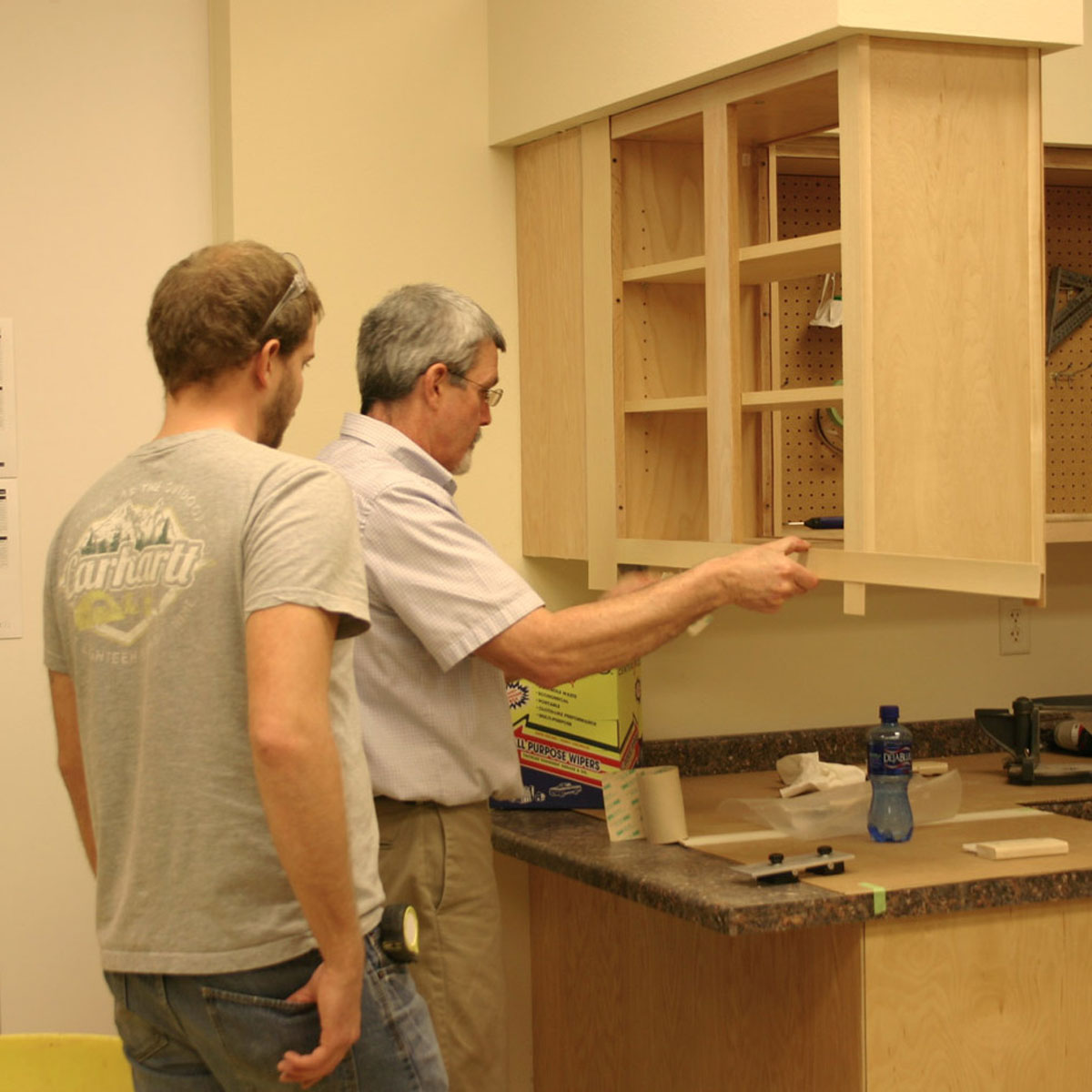 cabinet painting fort worth